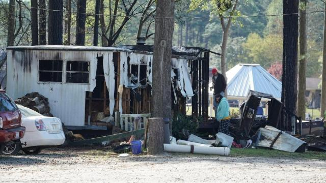 Fatal mobile home fire in Cumberland County
