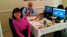 IMAGE: Virtual Passover celebrations take place of traditional Seder dinners