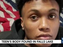 Teenagers mourn after swimming accident in waterfall lake