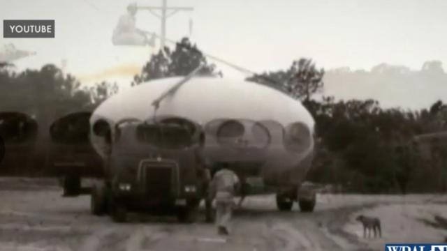 UFO house in Frisco on the Outer Banks