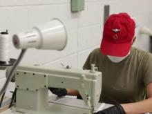 Fort Bragg soldiers help produce protective gear for healthcare workers
