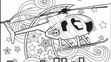 IMAGES: Bored at home? Get creative with these WRAL coloring sheets