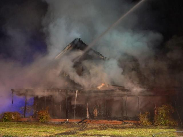 Large fire destroys Selma home