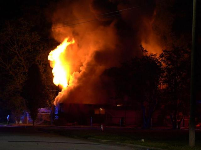 Large fire destroys Selma home