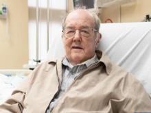 Unafraid of COVID-19: WWII veteran gets life-saving surgery at 97