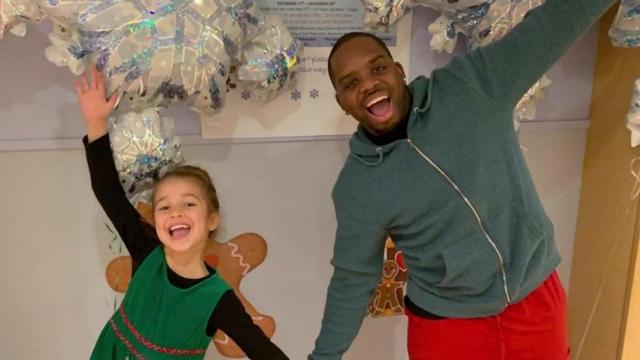 Superhero Shawn is a nurse that helps treat a 6-year-old girl's cancer.