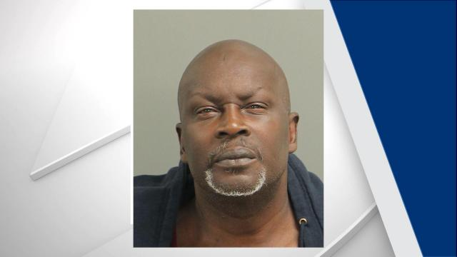 Anthony Quinn Crews, 55, was charged with assault with a deadly weapon with intent to kill. Photo from Raleigh Police Department.