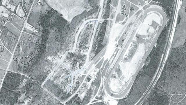 Raleigh Speedway: Exploring lost NASCAR history. Image credit: N.C. Geological Survey