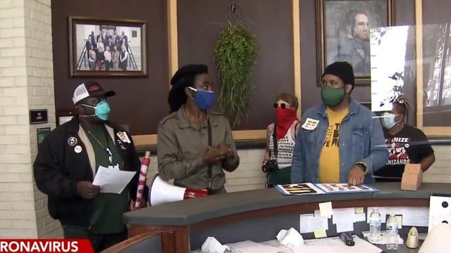 Goldsboro workers seeking coronavirus protections