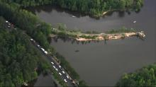 IMAGE: Body of 9-year-old boy pulled from Falls Lake