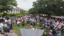 IMAGES: Christian leaders rally in Raleigh demanding reopening of churches