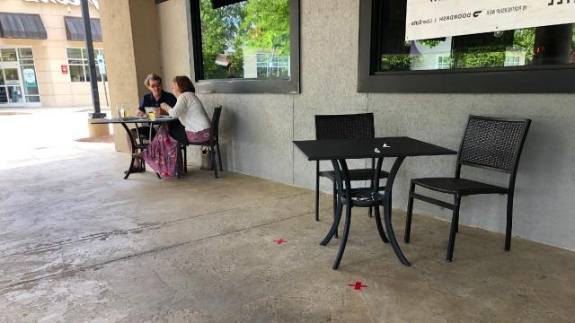 Outdoors at Bonefish Grill