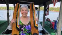 IMAGES: Sanford woman goes water skiing for her 80th birthday