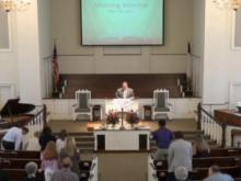 Churches fill with returning members, offer safety guidelines