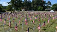 IMAGES: Pandemic doesn't halt Memorial Day observances in Fayetteville