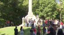 IMAGES: Rocky Mount to remove 103-year-old Confederate monument