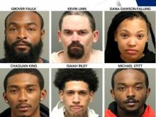 Six arrested in Raleigh during Monday night protests