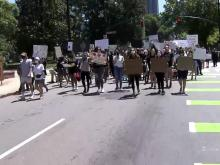 Downtown Raleigh protests June 2, 2020