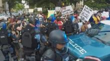 IMAGES: Fact check: Raleigh text messages say Antifa planned to raid rich neighborhoods