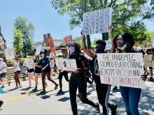 Chapel Hill protest