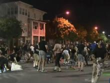 Durham protest starts peaceful, ends chaotic for marchers
