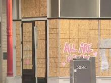 Raleigh businesses hit hard by pandemic struggle following riots