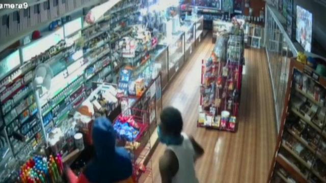 Raleigh smoke shop victim of riots