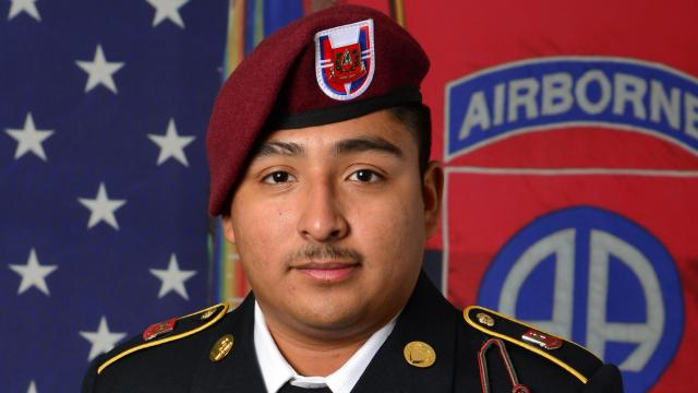 Spc. Enrique Roman-Martinez, 21, of Chino, Calif., was a human resource specialist assigned to Headquarters Company, 37th Brigade Engineer Battalion, 2nd Brigade Combat Team, 82nd Airborne Division.