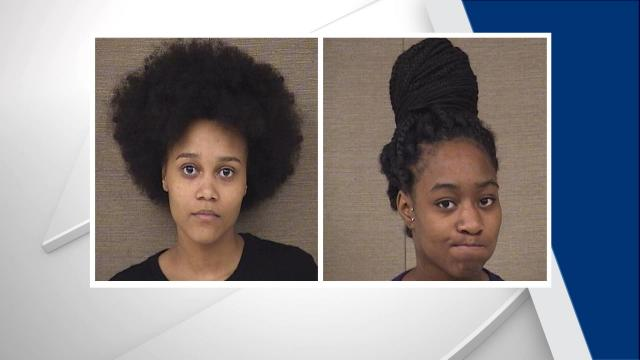 Carla Jaynette Williams, 23, from Columbia (right) and Jakima Velonne Jackson, 19 from Columbia (left) were charged in connection with a shooting death of a Harnett County high school senior. (Photos from the Harnett County Sheriff's Office).