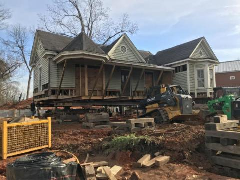 Preservation NC works on preserving a historic Oberlin home.