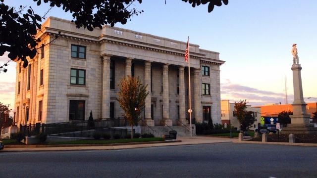 Alamance County Courthouse, NC.