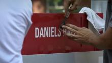 IMAGES: NC State students respond to Daniels Hall being renamed