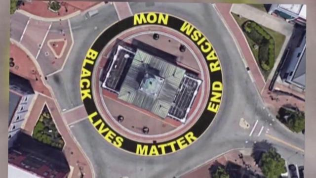 Black Lives Matter mural to encircle historic Fayetteville Market House