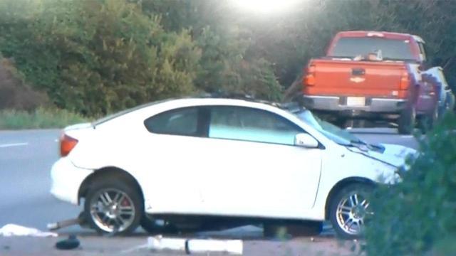 Teenager killed when car hits power pole on New Bern Avenue