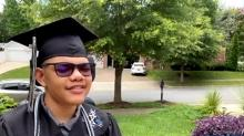 IMAGE: Battling cerebral palsy, Huntersville teen graduates from high school