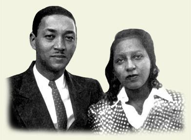 Joseph Holt, Jr.'s parents: Joseph Holt Sr. and Elwyna (Image courtesy of Raleigh Hall of Fame)