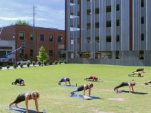 New business model: Durham gym offers outdoor classes with small groups