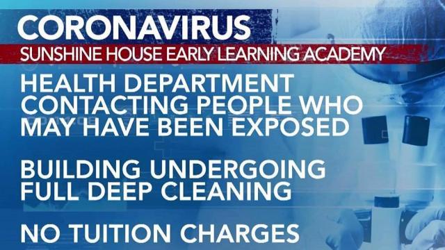 Coronavirus outbreak closes daycare center in Fayetteville