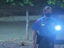 Raleigh investigators on the scene of triple shooting