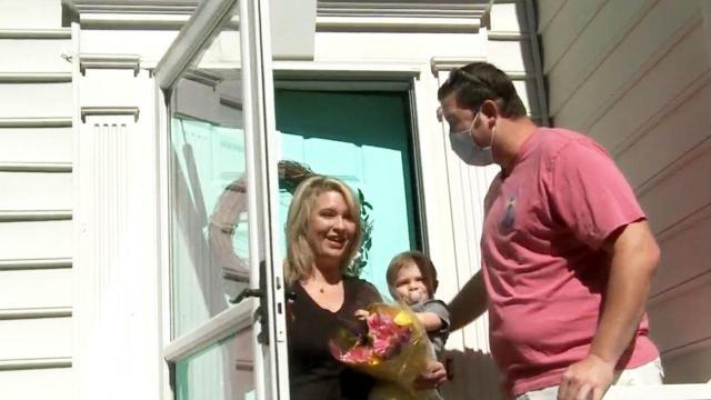 Durham nurse receives $5,000 closet makeover surprise