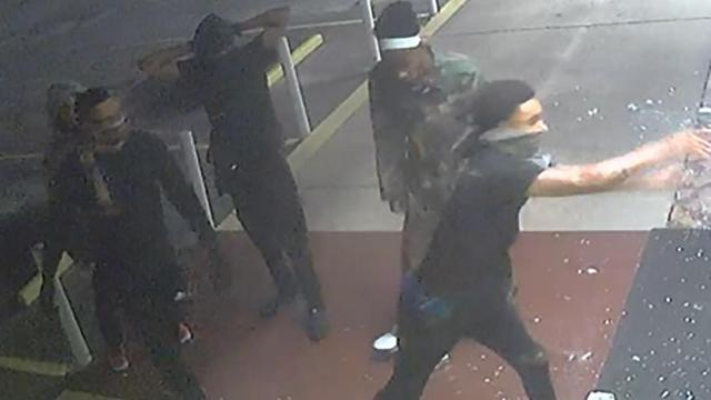 Several people broke into Ace Pawn Shop, at5721 Bragg Blvd., and took multiple firearms.