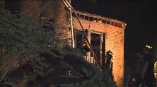 IMAGE: Firefighter taken to hospital after fire at Durham home