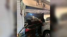 IMAGE: Fire forces family with 5 children out of Clayton home