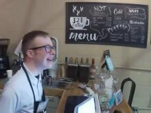 Nonprofit coffee business reopens after coronavirus, gets free makeover