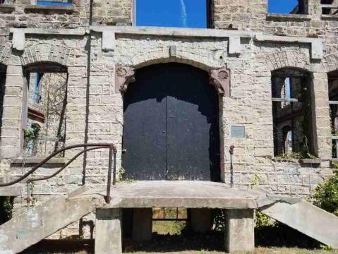 St. Agnes Hospital front door