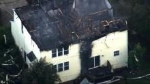 IMAGE: Raleigh home catches fire twice in 24 hours