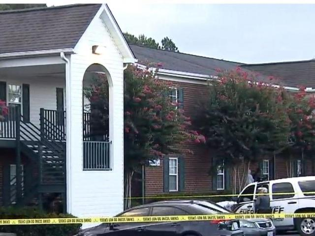 Police surround Youngsville apartment home