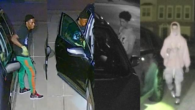 Morrisville vehicle break-in suspects