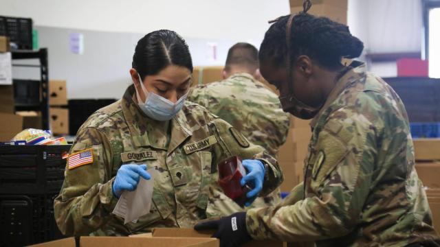 NC National Guard 'winding down' its COVID-19 relief operations