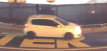 Fayetteville police need help identifying this vehicle, which was caught on a security camera pouring paint over a Black Lives Matter mural around the Market House